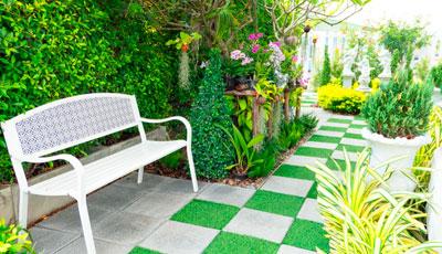 para jardín y terraza