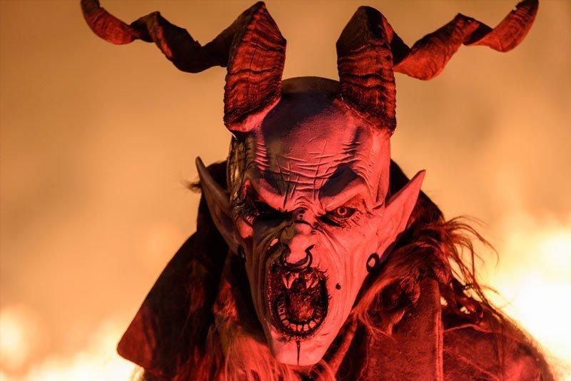 Máscara completa de látex para Halloween